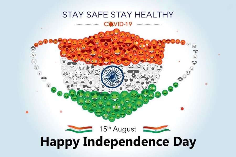 covid19 mask independence day stay safe stay healthy