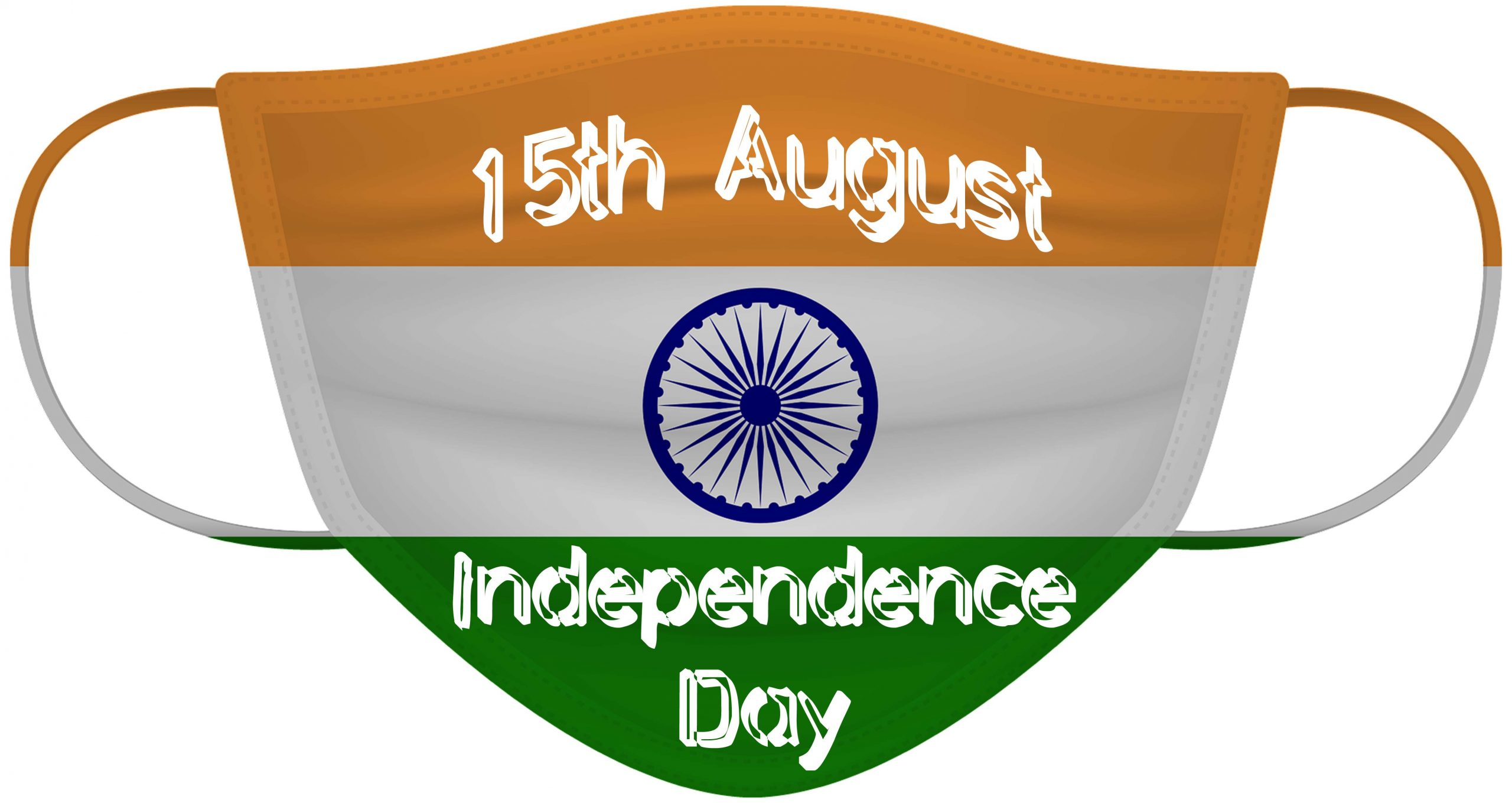 happy independence day mask image