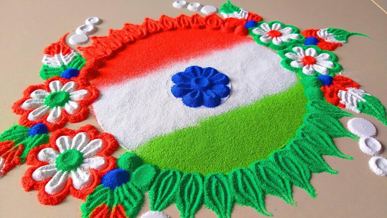 independence day image rangoli